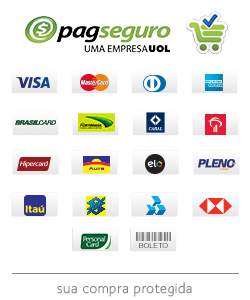 Logotipos de meios de pagamento do PagSeguro