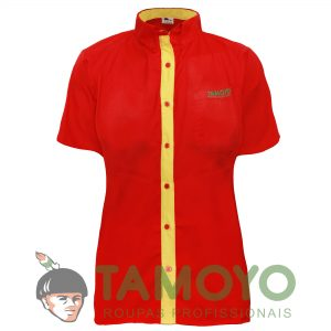 Camiseta Manga Curta Feminina - Bandeira Branca | Roupas Tamoyo