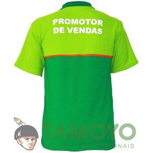 Camisa Polo Masculina - Bandeira Branca | Roupas Tamoyo