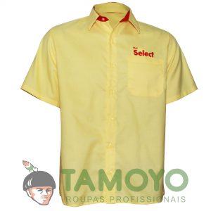 Camisa Shell Select Manga Curta Masculina | Roupas Tamoyo