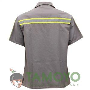 Camisa Manga Curta Aberta | Roupas Tamoyo