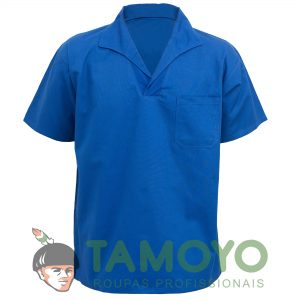 Camisa Manga Curta Gola Italiana | Roupas Tamoyo