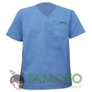 Camisa Manga Curta Gola V | Roupas Tamoyo
