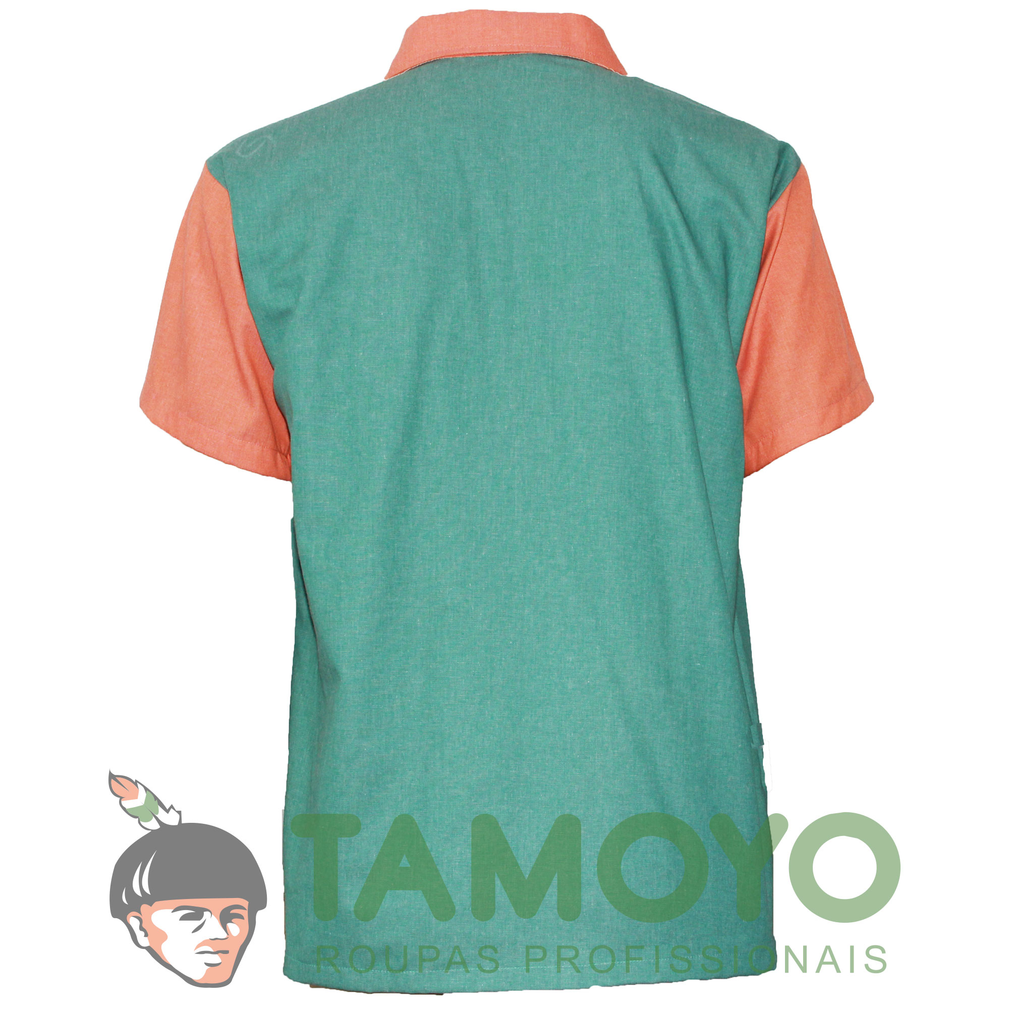Camiseta Polo Manga Curta Masculina