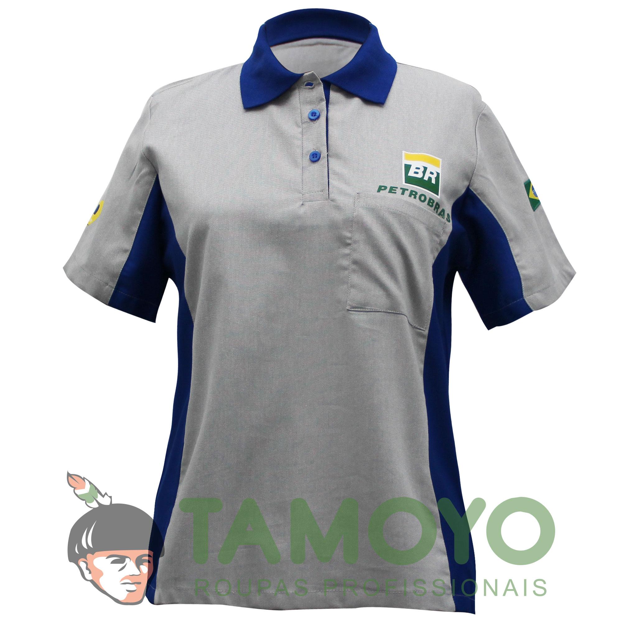 Camisa Polo BR Sigabem Feminina