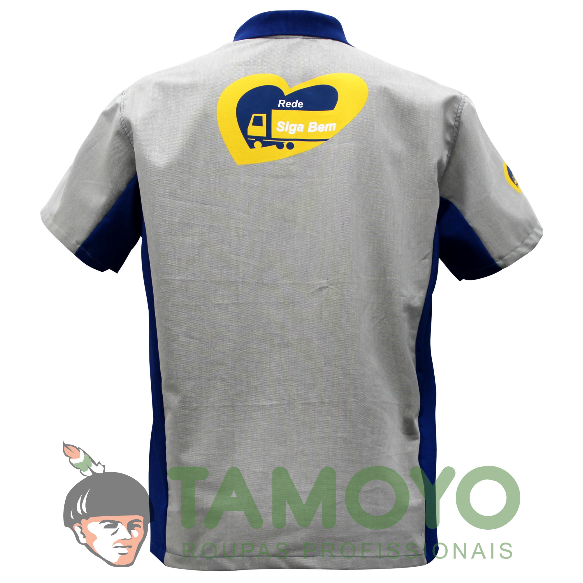 Camisa Polo BR Sigabem Masculina